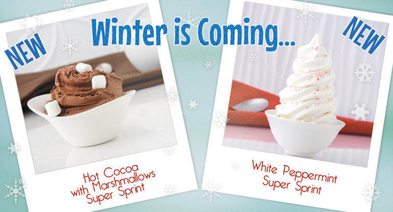 Give our new winter flavors a try!