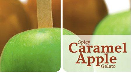 Recipe for Spicy Caramel Apple Gelato