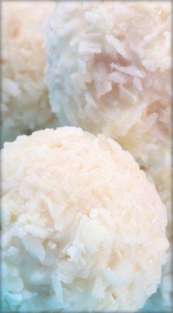 White Chocolate Snowballs
