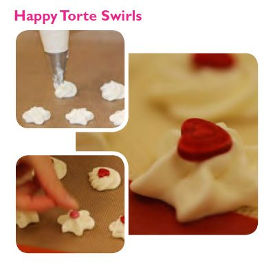 Happy Torte Swirls