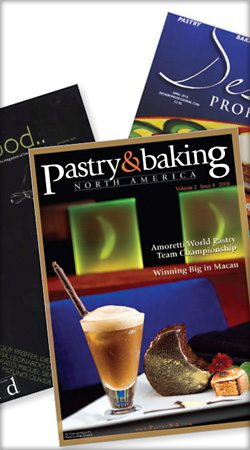 Dessert magazines