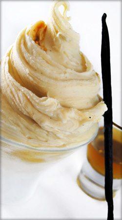 Vanilla Whiskey Caramel Gelato