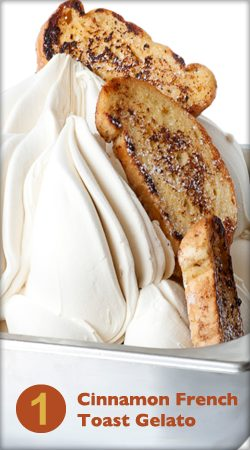 Cinnamon French Toast Gelato