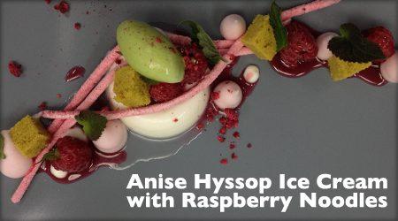 Anise Hyssop Ice Cream