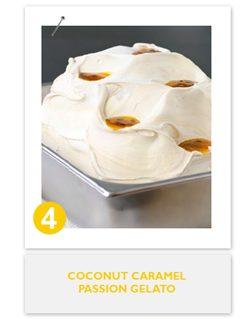 Coconut Caramel Passion Gelato