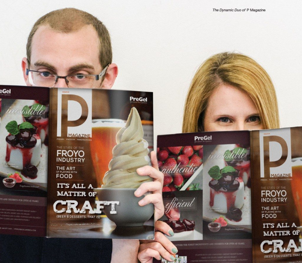 creating pregel magazine