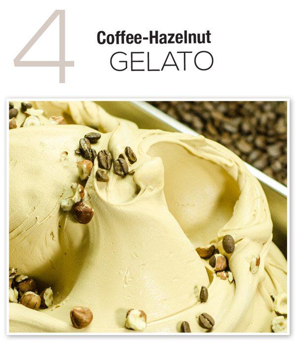 Coffee-Hazelnut Gelato