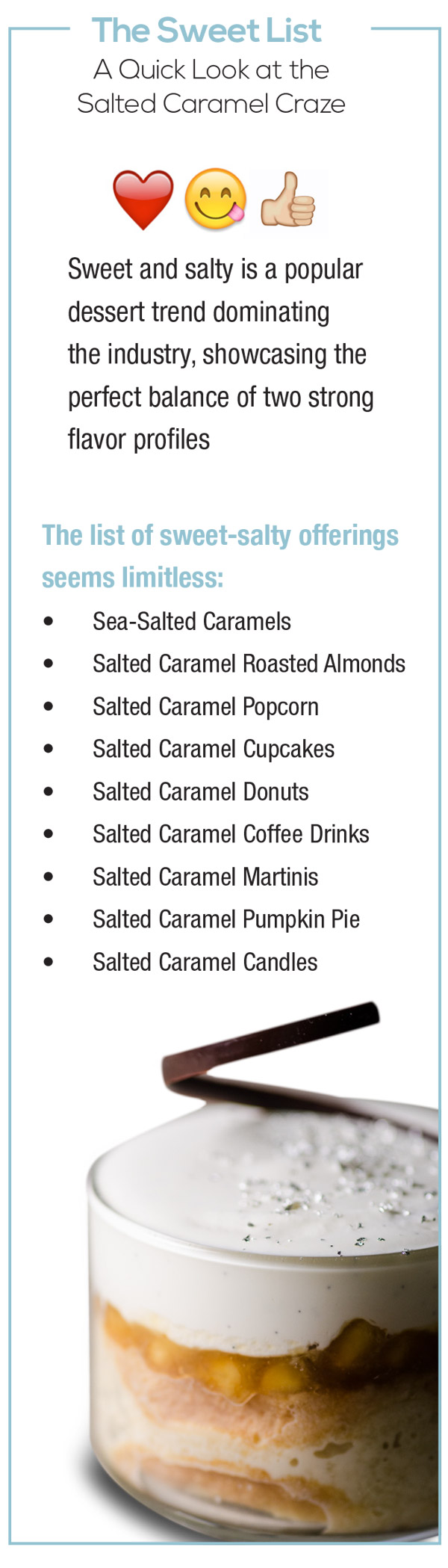 Salted Caramel list