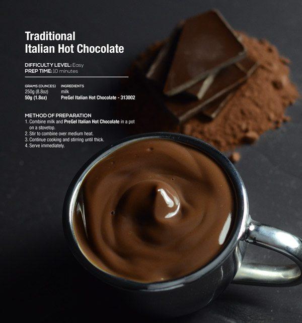Traditional Italian Hot Chocolate