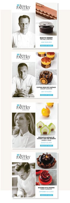 2018 5-Star Pastry Classes