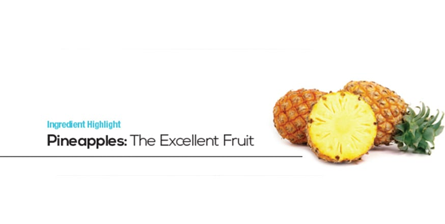 Pineapples the excellent fruit