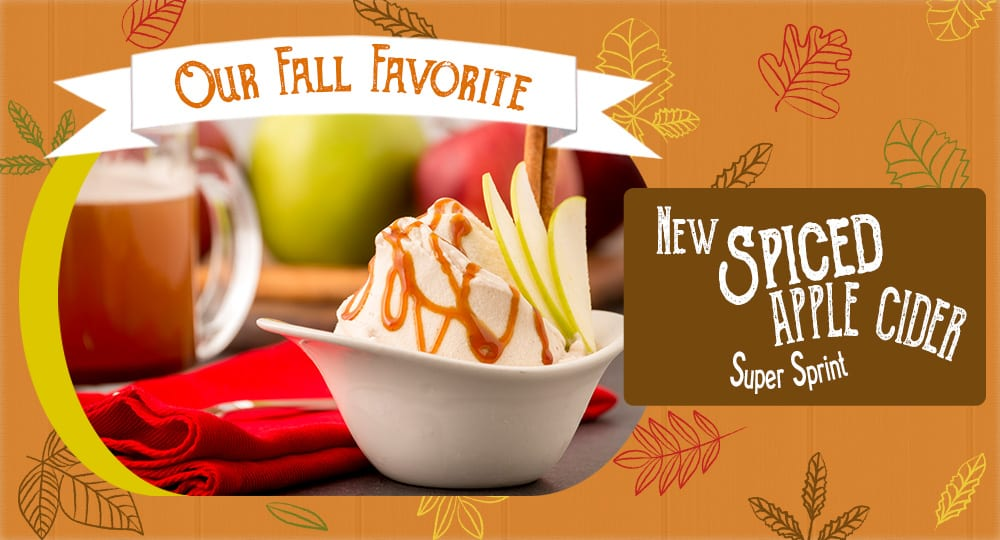 Give our new fall flavor a try!
