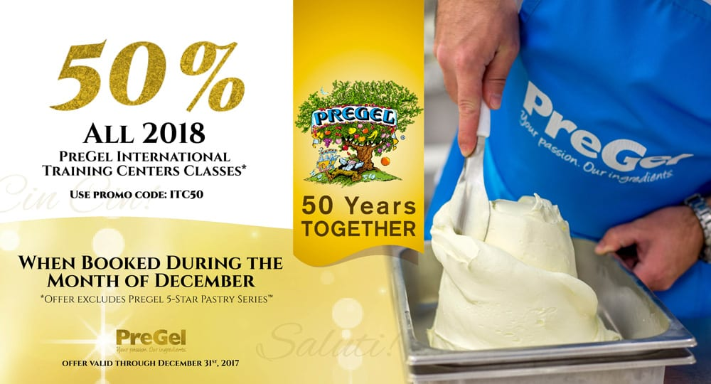 PreGel 50 year anniversary sale