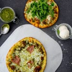 Pizza-with-Pesto-Pure-Green-Pistachio-Paste-Sauce