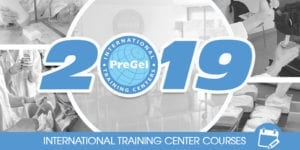 2019 PreGel International Training Center Course Schedule